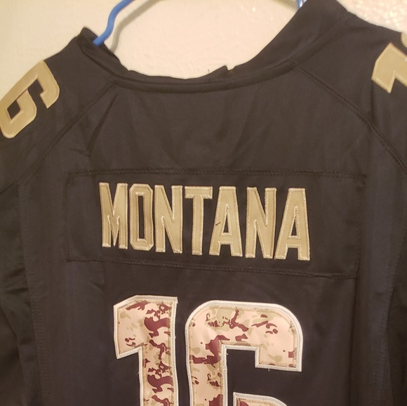 wholesale dealer 9bb09 7cc20 Football Jersey salute to service NWT